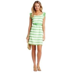 """Lilly Pulitzer 🌴"""" Danna"""" Dress New Green Awning"""